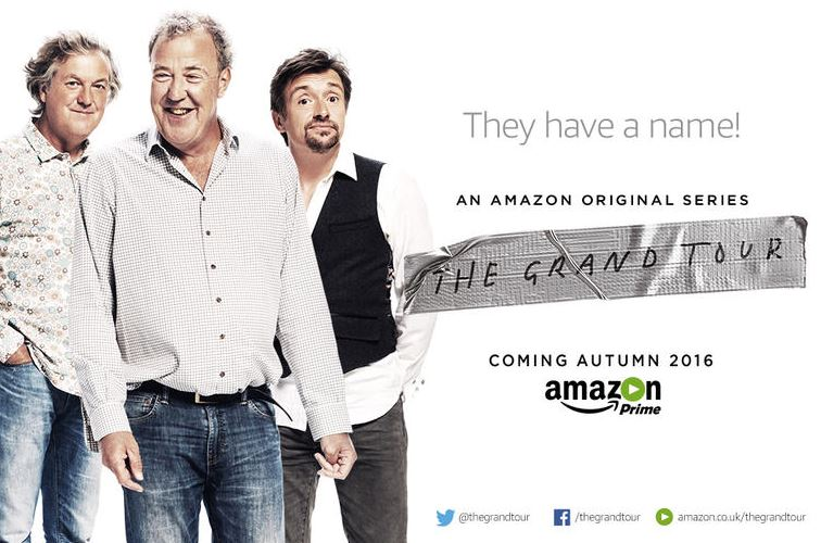 Clarkson, Hammond and May's new series The Grand Tour will debut in South Africa