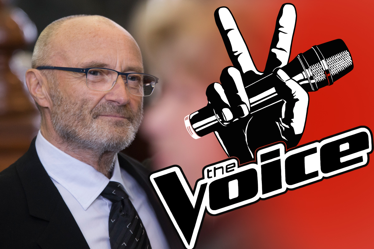 ITV makes 'considerable offer' to get Phil Collins to join The Voice UK