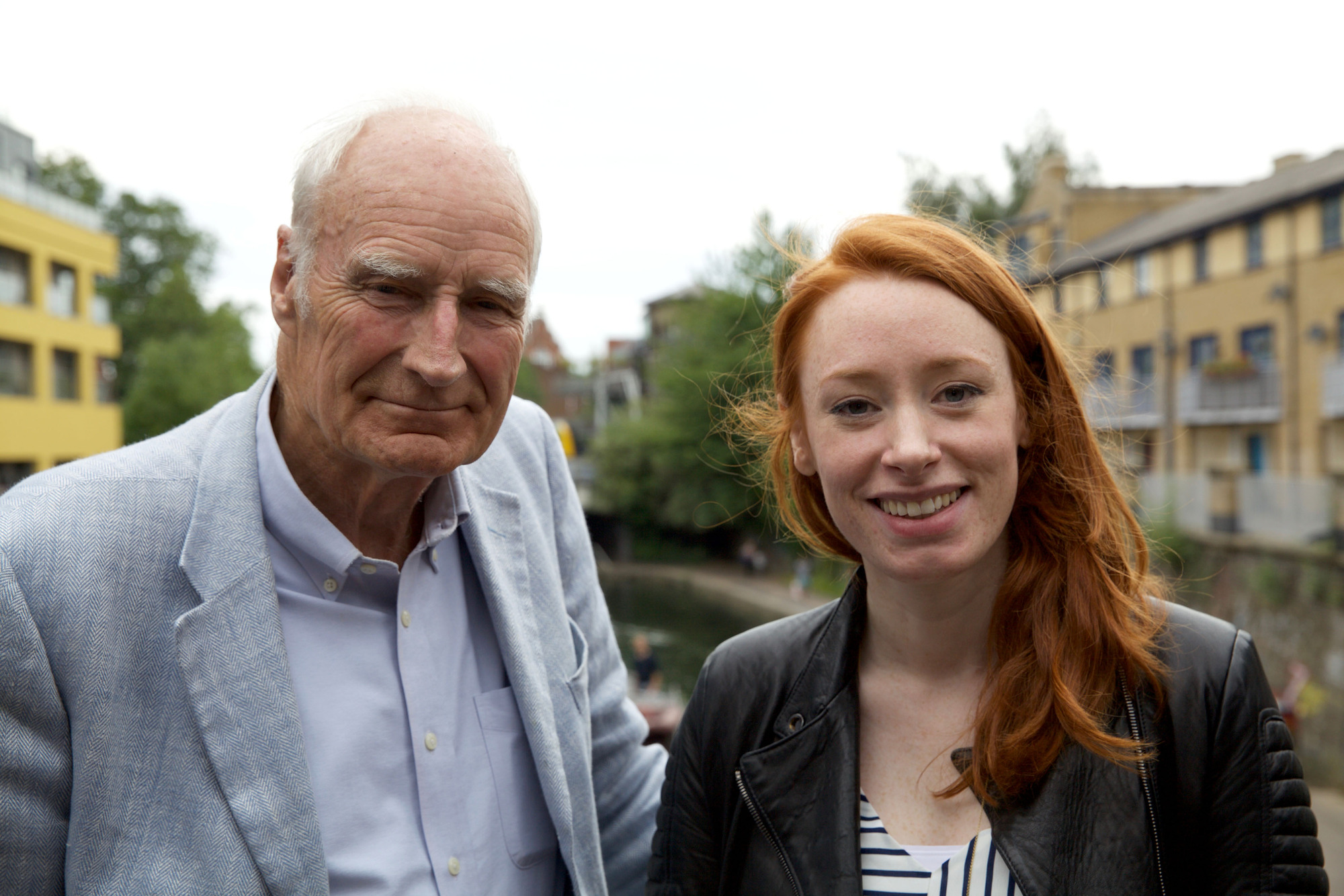 Programme Name: Trainspotting Live! - TX: n/a - Episode: n/a (No. n/a) - Picture Shows: (L-R) Peter Snow, Dr Hannah Fry - (C) Plum Pictures - Photographer: Will Daws