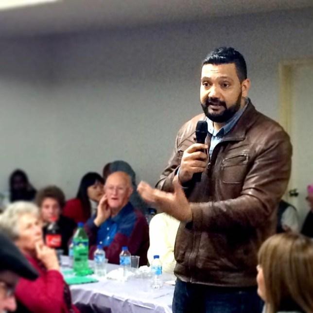 Ali Kadri is a spokesperson for the Islamic Council of Queensland (Picture: Ali Kadri)
