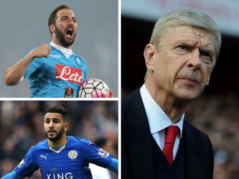 Gonzalo Higuain, Julian Draxler- who Arsenal could sign as they look to strengthen depleted attack