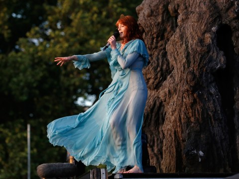 Florence and the Machine are back with a luscious new song for Tim Burton's new movie