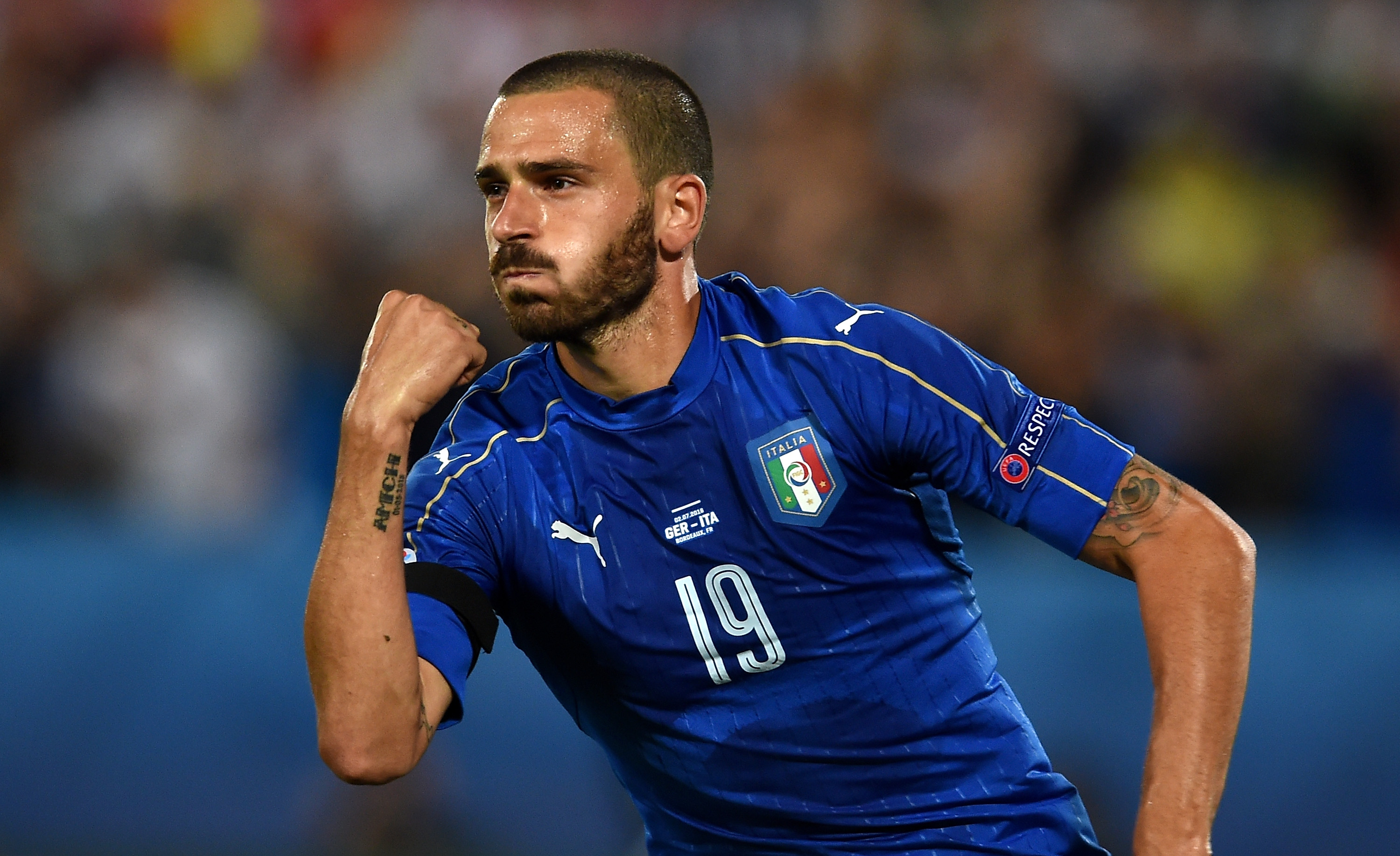 Manchester United willing to pay as much as £50million for Juventus' Leonardo Bonucci