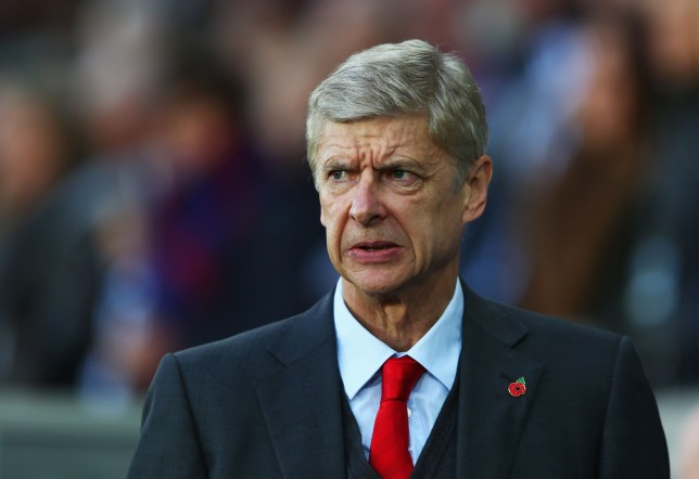 SWANSEA, WALES - NOVEMBER 09: Arsene Wenger manager of Arsenal looks on prior to the Barclays Premier League match between Swansea City and Arsenal at Liberty Stadium on November 9, 2014 in Swansea, Wales. (Photo by Michael Steele/Getty Images)