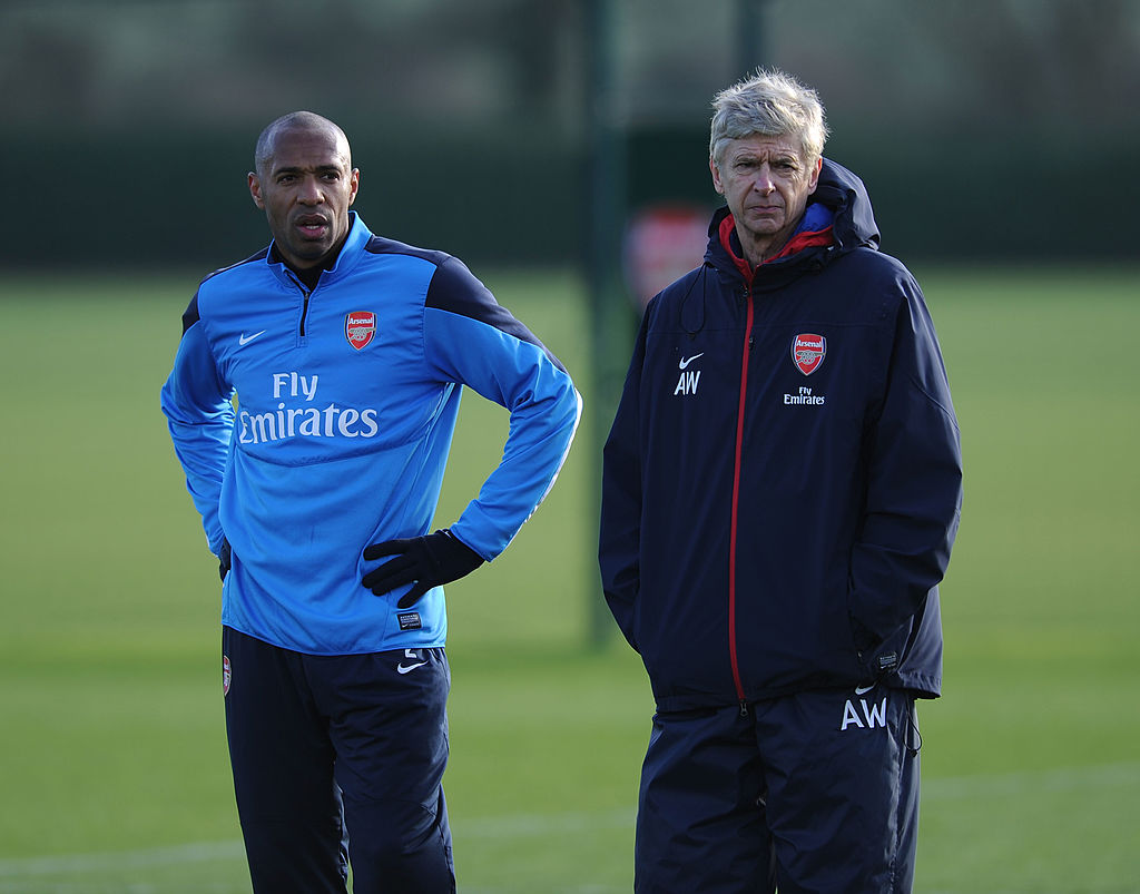 Thierry Henry confirms Arsene Wenger blocked coaching role after club legend had accepted offer