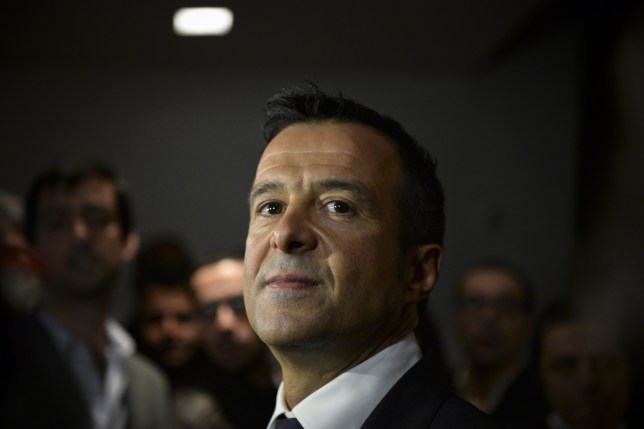 "Portuguese football manager Jorge Mendes stands in front of the press during the release of the book ""The Special Agent"" written by Miguel Cuesta and Jonathan Sanchez in Lisbon on February 2, 2015. AFP PHOTO/ PATRICIA DE MELO MOREIRA (Photo credit should read PATRICIA DE MELO MOREIRA/AFP/Getty Images)"