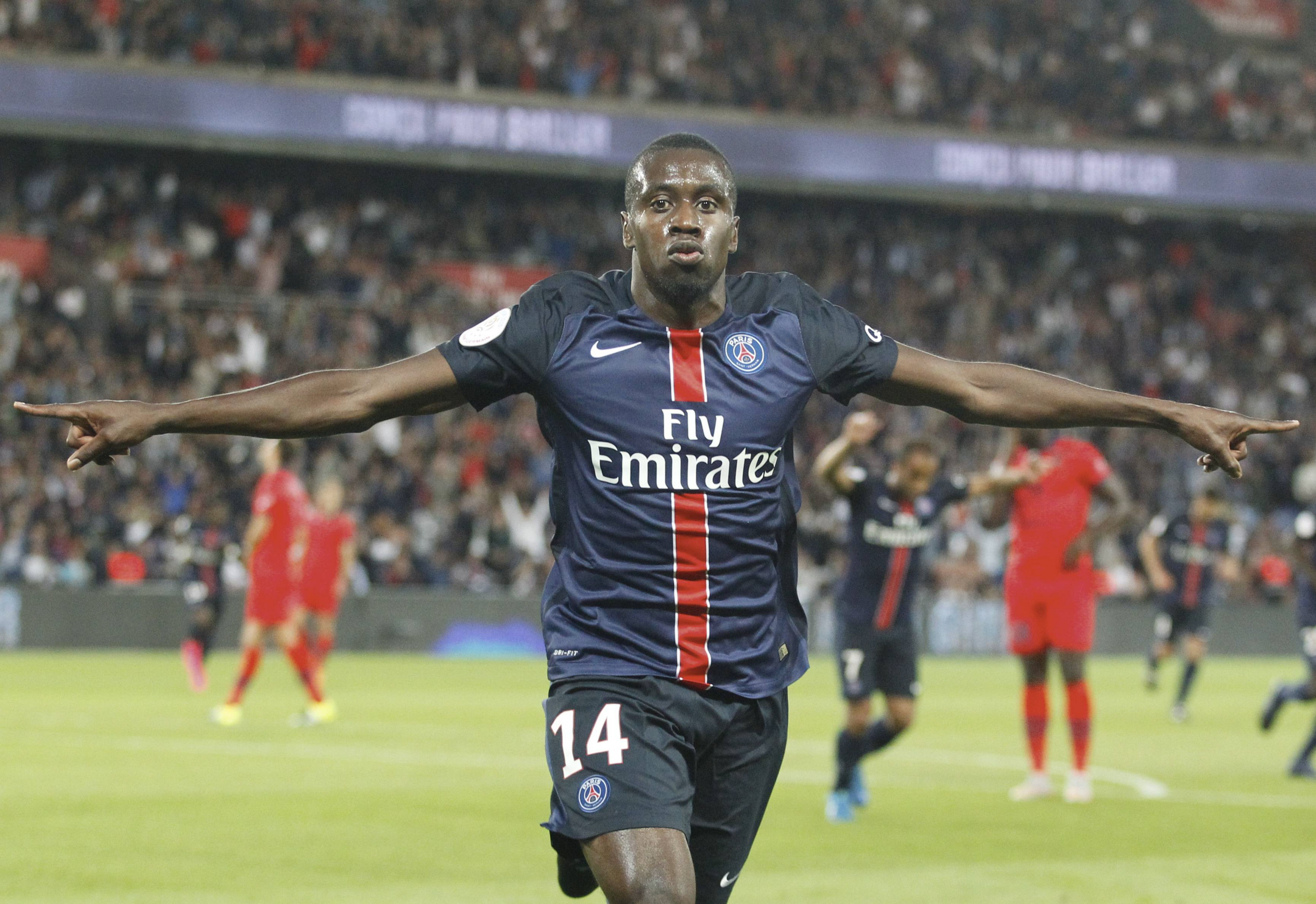 Chelsea and Manchester United on alert for Blaise Matuidi transfer after Unai Emery hint