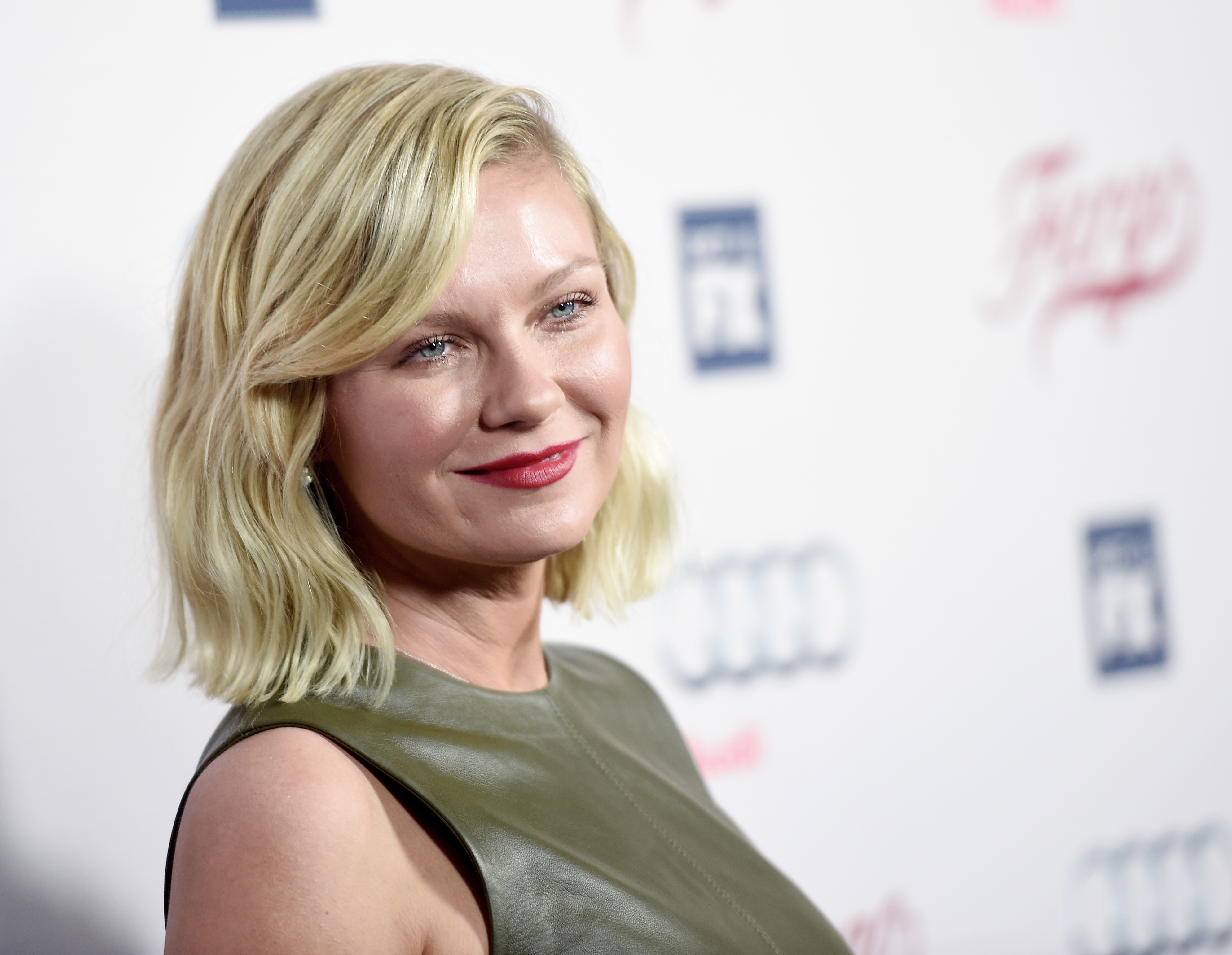 "LOS ANGELES, CA - OCTOBER 07: Actress Kirsten Dunst arrives at the premiere of FX's ""Fargo"" Season 2 at the Arclight Theatre on October 7, 2015 in Los Angeles, California. (Photo by Kevin Winter/Getty Images)"