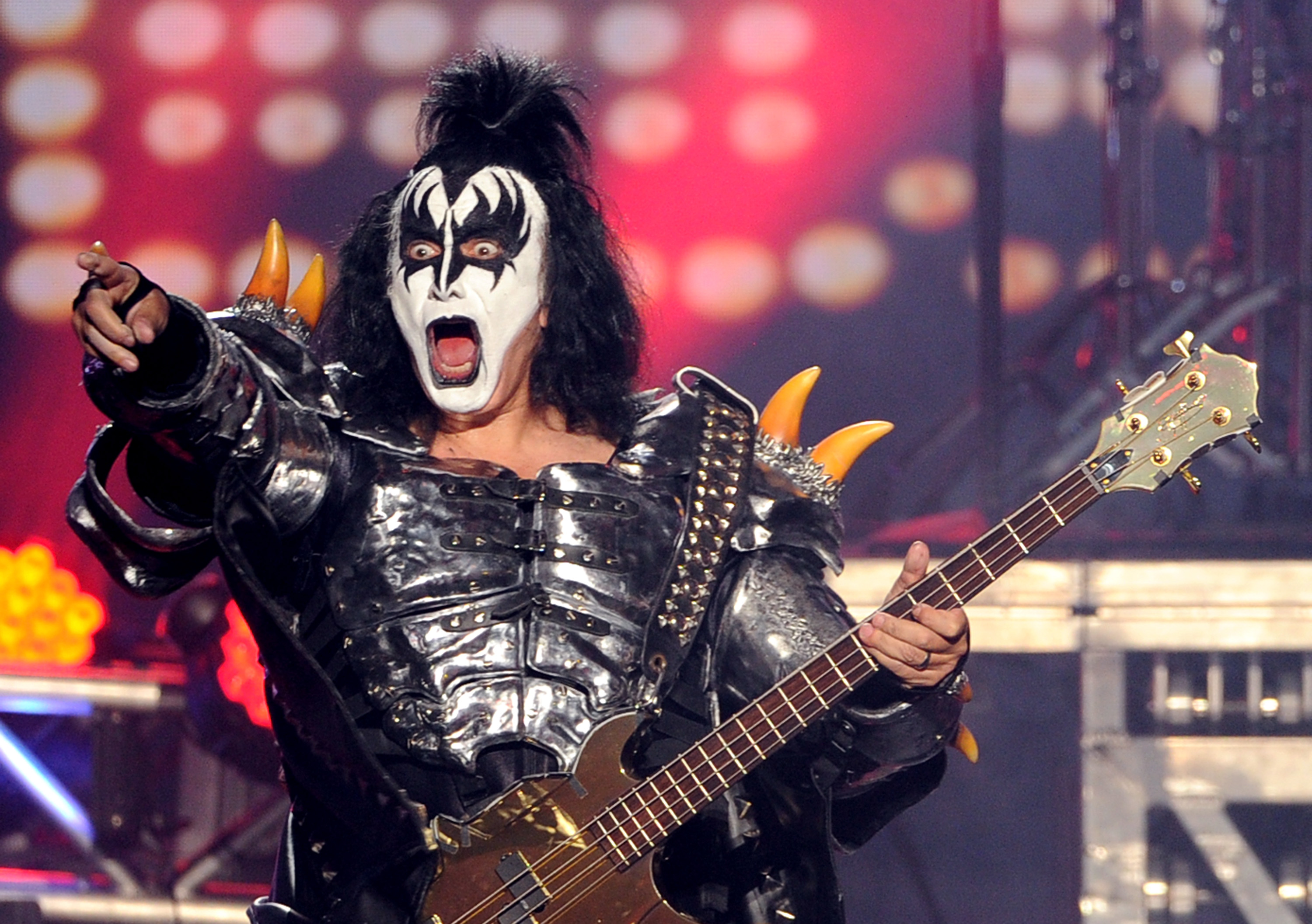 WATCH: Gene Simmons falls over live onstage during a KISS gig