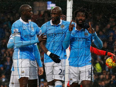 Manchester City and Everton meet to discuss John Stones-Wilfried Bony swap transfer