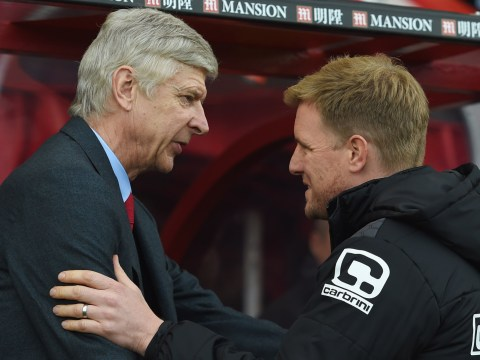 Arsenal earmark Eddie Howe as manager to replace Arsene Wenger