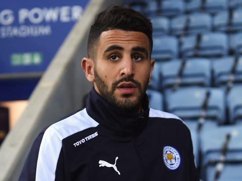 Arsenal fans go into meltdown after Riyad Mahrez is spotted on plane to London
