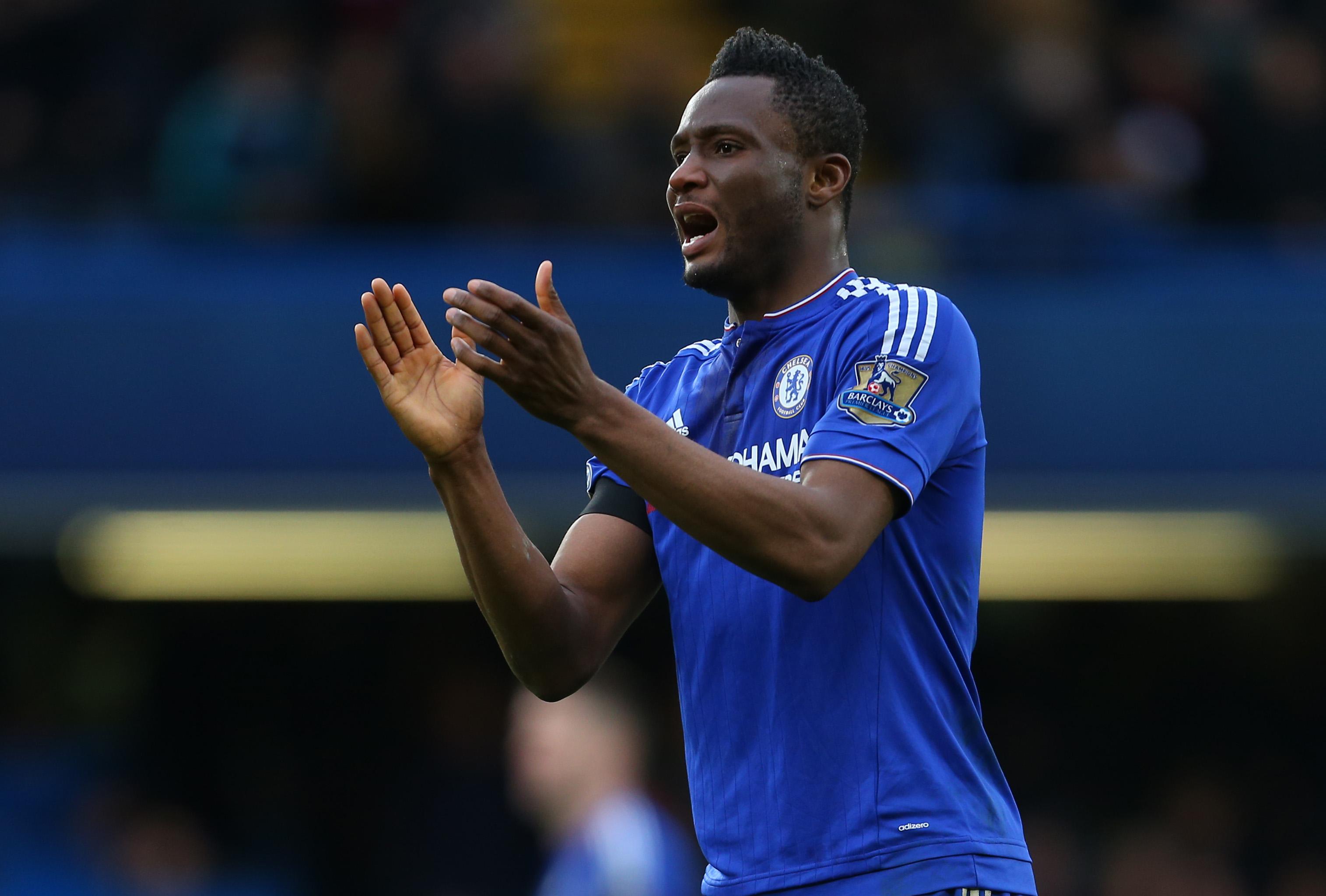 Chelsea ace John Obi Mikel named in Nigeria Olympics squad