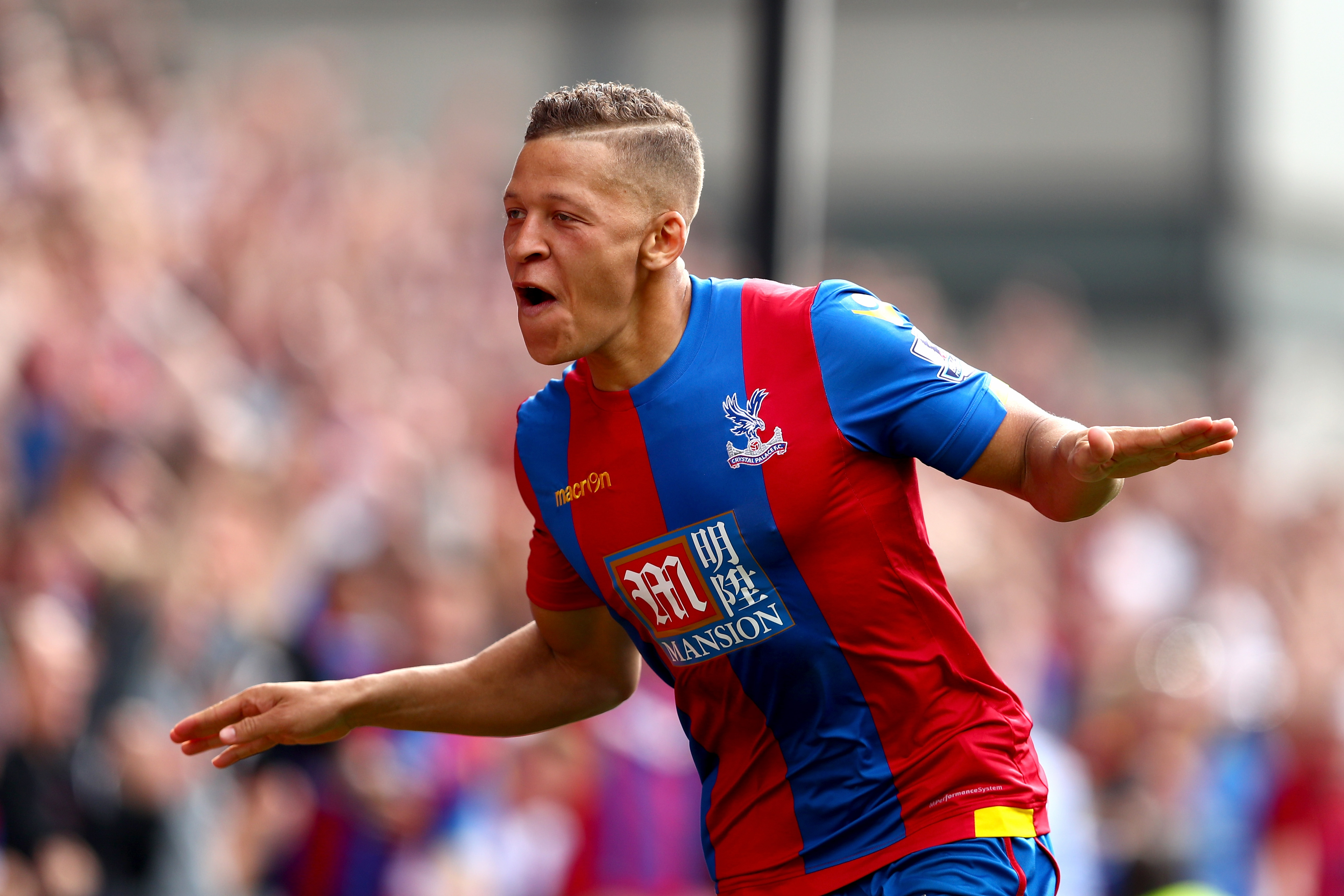 Newcastle confirm £10m transfer of Crystal Palace striker Dwight Gayle
