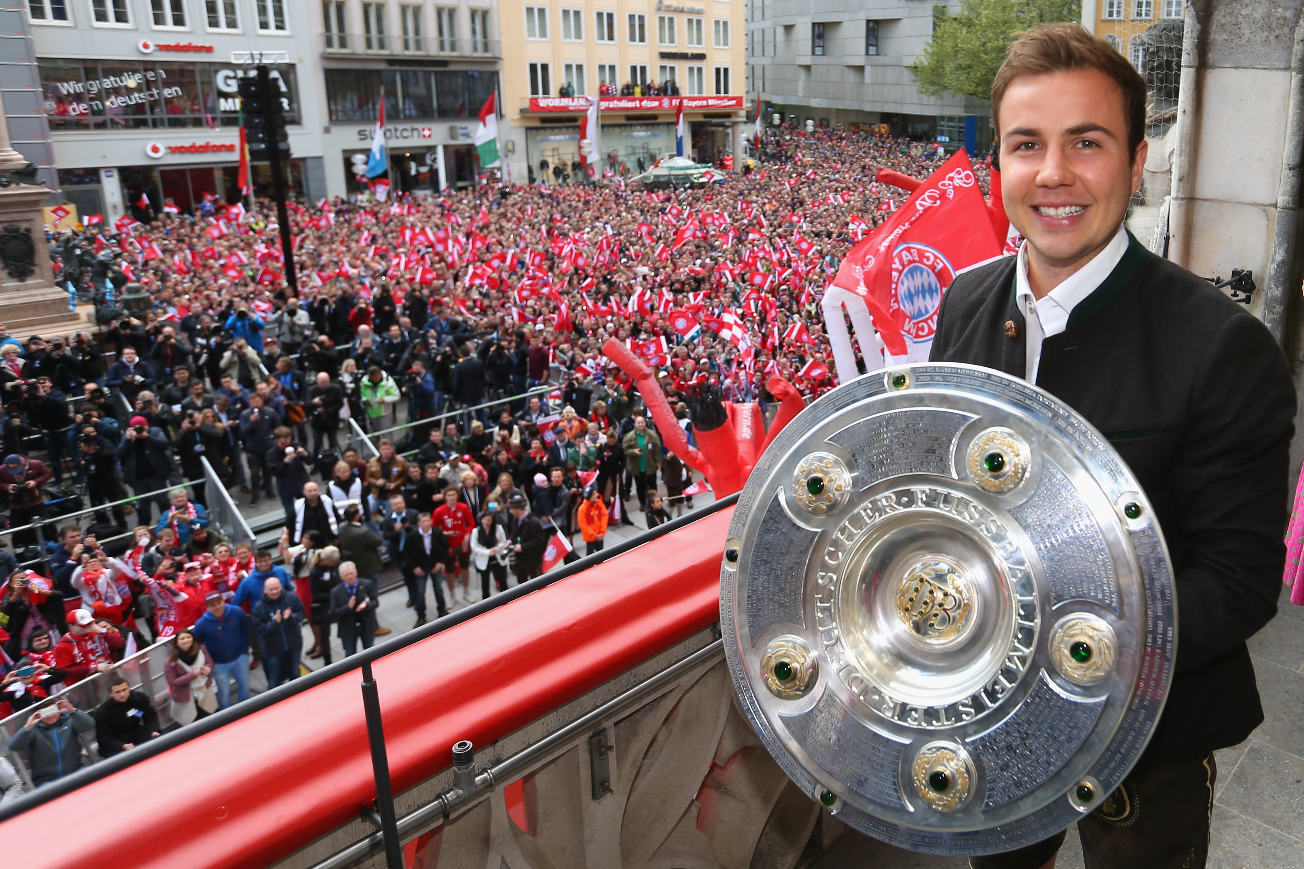 Mario Gotze negotiations over transfer to Borussia Dortmund confirmed by Bayern Munich