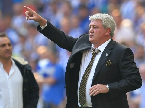 Hull City confirm Steve Bruce has held talks with the FA over England job