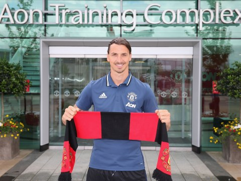 Watch Zlatan Ibrahimovic's first Manchester United interview after completing transfer move