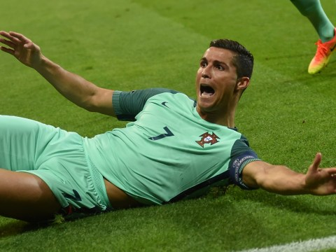 Cristiano Ronaldo becomes joint-highest scorer in European Championship history