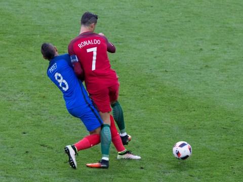 Dimitri Payet not to blame for Cristiano Ronaldo injury during Euro 2016 final, insists Rio Ferdinand