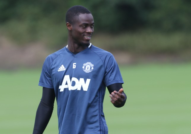 723074dbcf5 Bailly took part in training with the rest of the United squad on Wednesday  (Picture  Getty). Manchester United new boys Henrikh Mkhitaryan ...