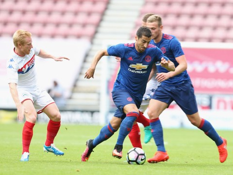 Henrikh Mkhitaryan says it 'doesn't matter' what position he plays for Manchester United