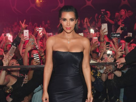 Kim Kardashian is not happy with son Saint's first word