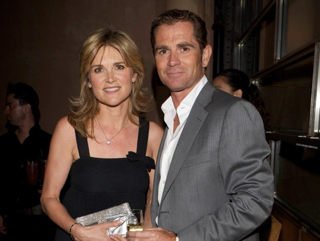 LONDON - JUNE 11: Anthea Turner and Grant Bovey attend Karen Millen's OBE celebration party at 17 Berkeley Street on June 11, 2008 in London, England. (Photo by Dave M. Benett/Getty Images)