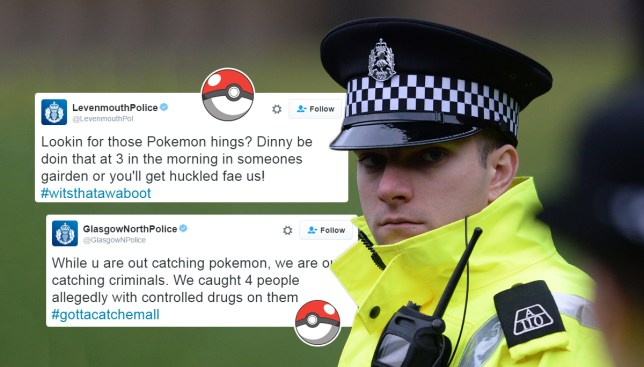 Scottish police use Pokemon Go to be down with the kids | Metro News