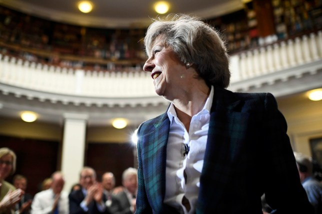 Britain's Home Secretary, Theresa May, delivers a speech at RUSI (Royal United Services Institute) in London, Britain June 30, 2016.   REUTERS/Dylan Martinez TPX IMAGES OF THE DAY