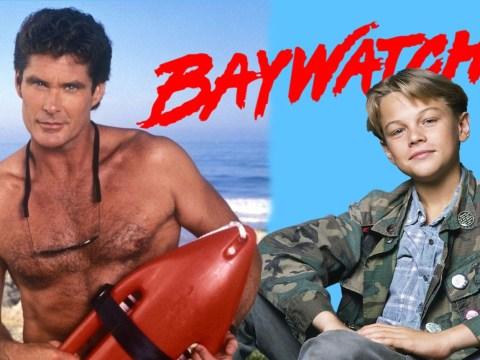 Leonardo DiCaprio nearly played David Hasselhoff's son on Baywatch