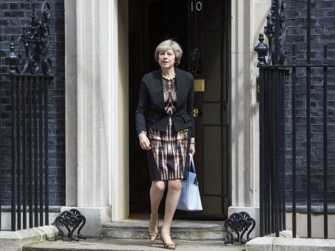 People think Theresa May should be Prime Minister because she's got nice dresses