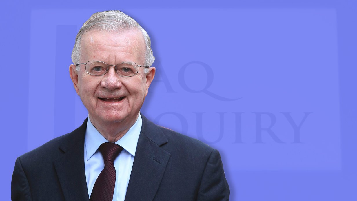 Who is Sir John Chilcot and why was he put in charge of the Iraq War inquiry?
