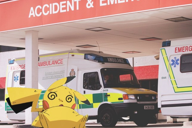 """Pokemon Go put me in the ER last night"" The game is causing injuries pokemon-hospital-getty.jpg"