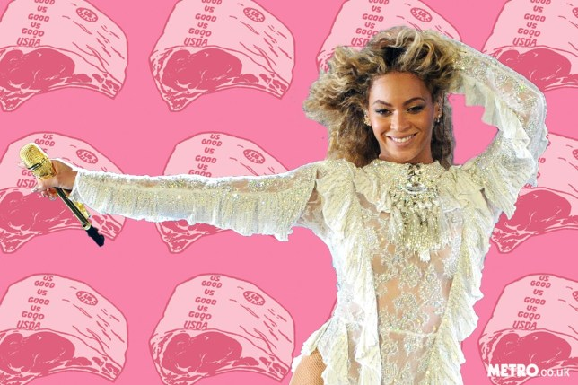 Beyonce's huge meat demand rider manchester arena tour beyonce-meat-getty-rex.jpg