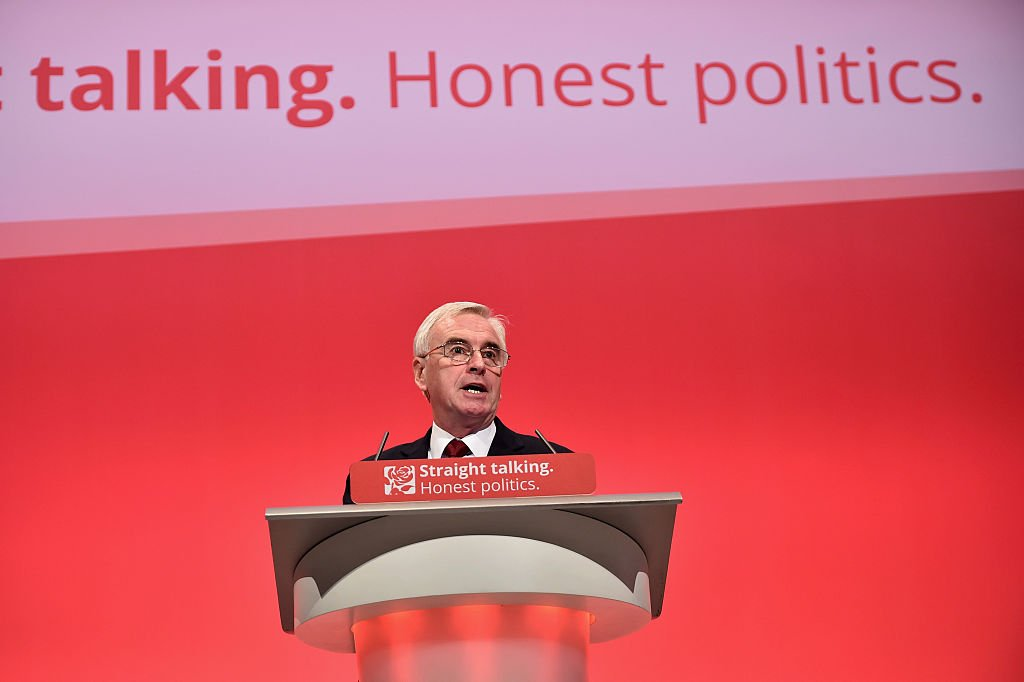 John McDonnell makes his feelings clear with X-rated speech