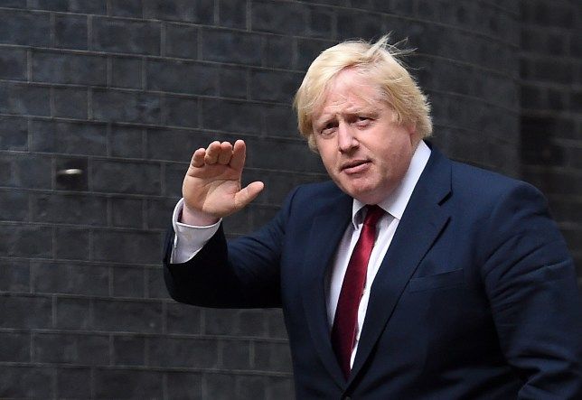 epa05423642 New Foreign Secretary Boris Johnson arrives at No.10 Downing Street after being summoned by new British Prime Minister Theresa May in London, Britain, 13 July 2016. Theresa May has appointed Boris Johnson Foreign Secretary in her first Cabinet as Prime Minister.  EPA/ANDY RAIN