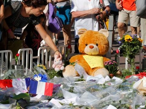 Mourners hold vigil near scene of Nice terror attack