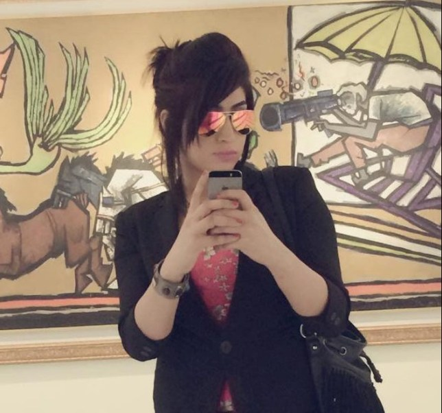 """REFILE - CLARIFYING CAPTIONSocial media celebrity Qandeel Baloch, who was strangled in what appeared to be an """"honour killing,"""" in Multan, Pakistan, is pictured in a selfie on her Facebook page. Qandeel Baloch/Facebook/via Reuters ATTENTION EDITORS - THIS IMAGE WAS PROVIDED BY A THIRD PARTY. EDITORIAL USE ONLY. NO RESALES. NO ARCHIVE. IT IS DISTRIBUTED, EXACTLY AS RECEIVED BY REUTERS, AS A SERVICE TO CLIENTS."""