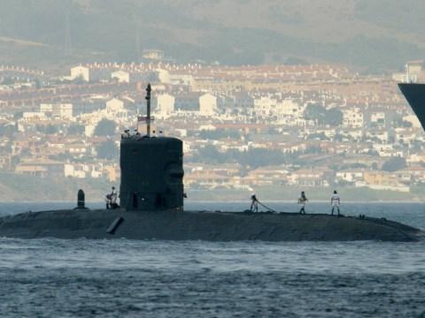 British nuclear submarine hits ship off Gibraltar