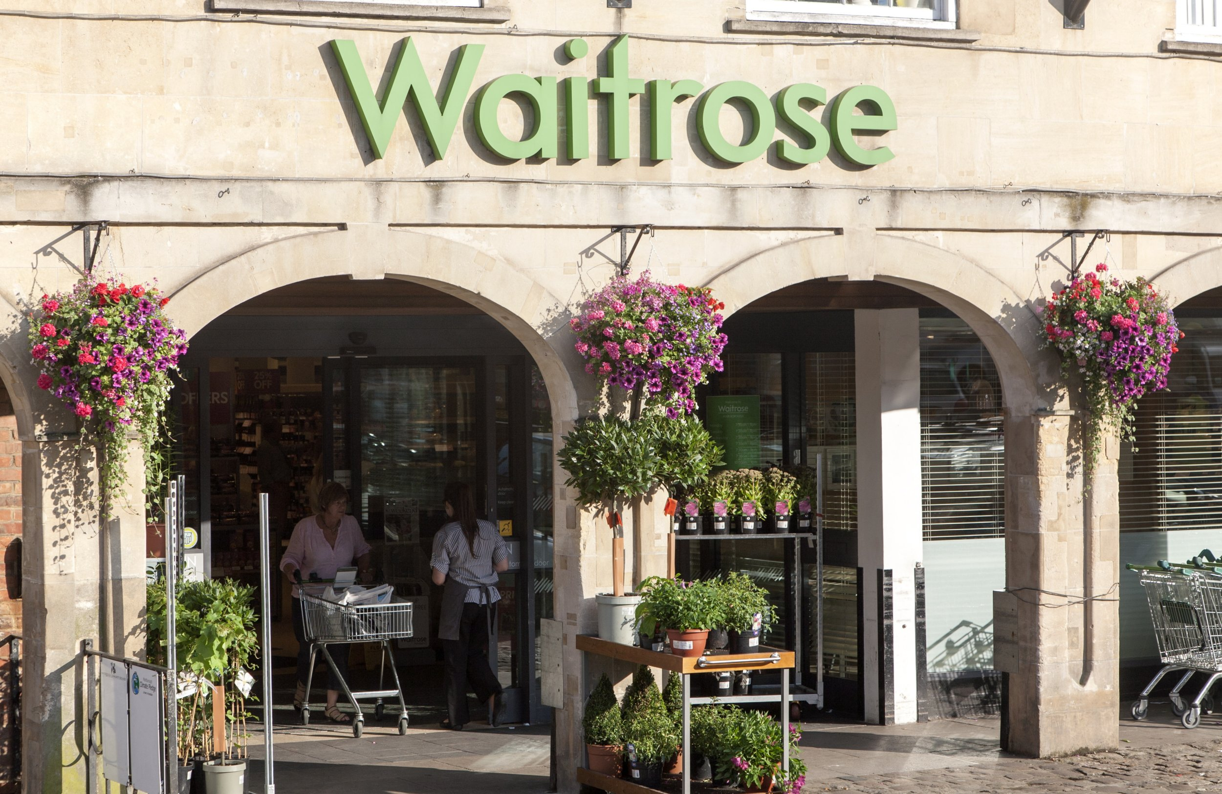 Waitrose supermarket store, Marlborough, Wiltshire, England. (Photo By: Geography Photos/UIG via Getty Images)