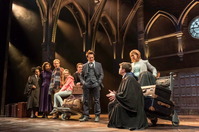 Good news! You can get your hands on Harry Potter and the Cursed Child tickets once againarry Potter And The Cursed Child. PRESS ASSOCIATION Photo. Issue date: Tuesday July 26, 2016. A follow-up to author JK Rowling's Harry Potter novels, the play follows the boy wizard's life 19 years after the events of the final book in the sequence, The Deathly Hallows. See PA story SHOWBIZ Potter. Photo credit should read: Manuel Harlan/PA Wire NOTE TO EDITORS: This handout photo may only be used in for editorial reporting purposes for the contemporaneous illustration of events, things or the people in the image or facts mentioned in the caption. Reuse of the picture may require further permission from the copyright holder.