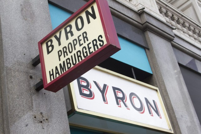"""Mandatory Credit: Photo by Amer Ghazzal/REX/Shutterstock (5801845d) A Byron restaurant chain in Fulham Broadway Byron Burger Chain Immigration Raids, London, UK - 28 Jul 2016 Nationals from Albania, Egypt, Brazil and Nepal suspected of """"not having the right to work in the UK and fraudulent documentation were arrested by Immigration officials at several Byron hamburger restaurants across London"""