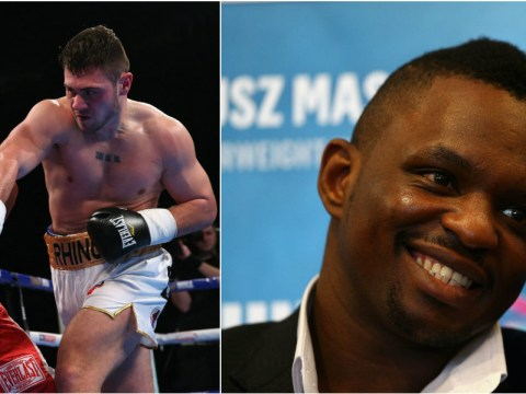David Allen says he has outboxed IBF heavyweight champion Anthony Joshua ahead of Dillian Whyte fight