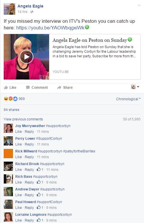 Angela Eagle hijacked