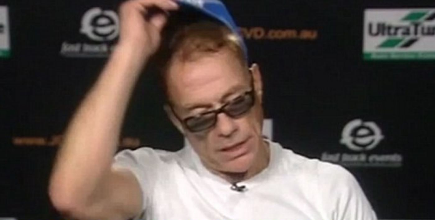 WATCH: Jean-Claude Van Damme storms out of TV interview after being asked about ex-fling Kylie Minogue