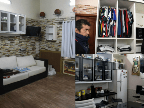 This drug lord seriously pimped up his prison cell