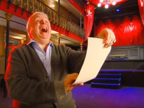 You need to see this super-cut of Celebrity Big Brother's Christopher Biggins laughing