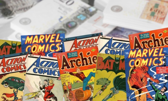 These comics could make you rich These comics could make you rich Getty