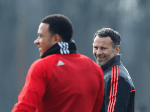 Manchester United ace Memphis Depay bids farewell to club legend Ryan Giggs