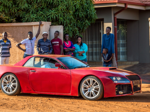 This man wanted a sports car so badly that he built one from scratch… by hand
